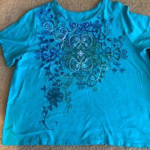 Catherine's shirt and Capri